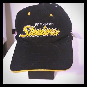 NFL STEELER ADJUSTABLE STRAP  CAP